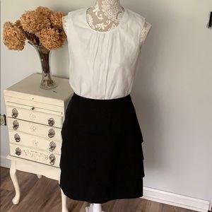 Larry Levine layered pencil skirt